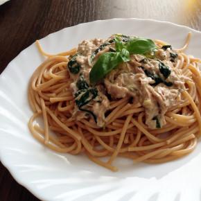 spaghetti-ze-szpinakiem